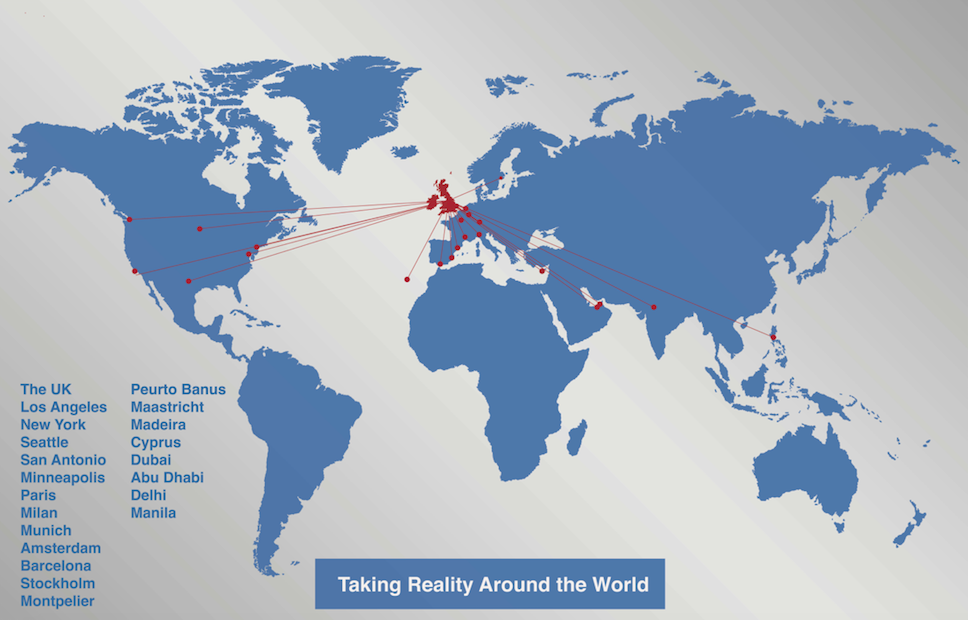 The Reality World Map | Reality Training